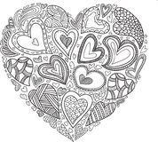 Simbol del corazón del vector libre illustration