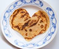 Simbol del día de tarjeta del día de San Valentín Imagen de archivo libre de regalías