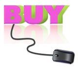 Simbol for shopping online Stock Photos