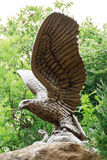 Simbol of town Kislovodsk bronze eagle Stock Images
