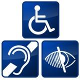 Simboli alterati Immagini Stock Libere da Diritti
