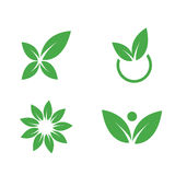 Simboli ambientali. Vettori della natura Fotografia Stock Libera da Diritti