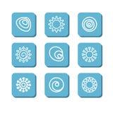 Simboli astratti Fotografie Stock Libere da Diritti