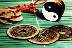 Simboli cinesi Immagini Stock
