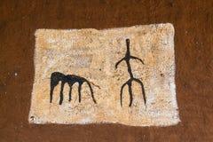 Simboli degli uomini di Vedda Immagini Stock Libere da Diritti