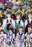 Simboli dei ricordi per i turisti e gli ospiti sulle vie di Budapest Immagine Stock Libera da Diritti