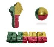Simboli del Benin Immagine Stock Libera da Diritti