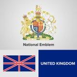 Simboli del Regno Unito Fotografie Stock