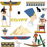 Simboli dell'Egitto Immagine Stock