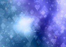 Simboli della carta da gioco Fotografie Stock Libere da Diritti