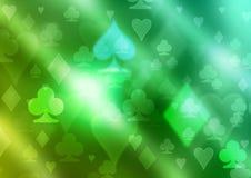Simboli della carta da gioco Fotografia Stock