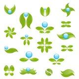 Simboli della natura illustrazione vettoriale