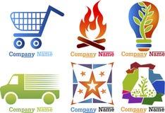 Simboli della raccolta Immagini Stock Libere da Diritti
