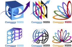 Simboli della raccolta Fotografia Stock