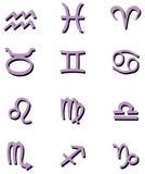 Simboli dello zodiaco Illustrazione Vettoriale