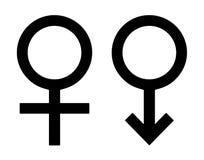 Simboli di genere Immagine Stock Libera da Diritti