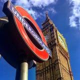 Simboli di Londra immagini stock libere da diritti