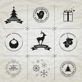 Simboli di Natale Immagini Stock