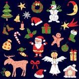 Simboli di Natale Immagine Stock Libera da Diritti