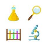 Simboli di scienza Fotografia Stock