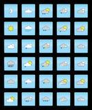 Simboli di tempo Fotografia Stock