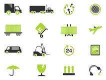 Simboli di trasporto di carico Fotografie Stock Libere da Diritti