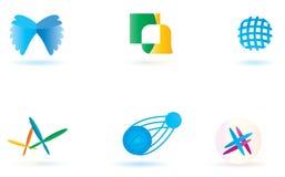 Simboli di vettore. Fotografie Stock Libere da Diritti
