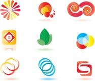 Simboli di vettore. Fotografia Stock