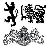 Simboli di Wappen Fotografie Stock