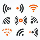 Simboli di WiFi royalty illustrazione gratis