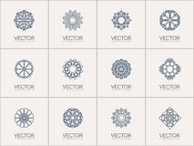Simboli geometrici di vettore Immagini Stock Libere da Diritti