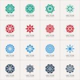 Simboli geometrici di vettore Fotografia Stock Libera da Diritti