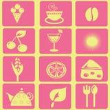 Simboli medi illustrazione vettoriale