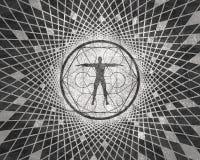 Simboli mistici esoterici fotografia stock libera da diritti