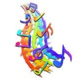 Simboli musicali royalty illustrazione gratis