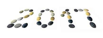 Simboli 2017 nuovi anni Immagine Stock