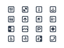 Simboli pubblici Fotografia Stock
