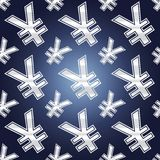 Simboli senza cuciture di Yen Fotografie Stock