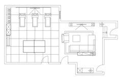 Simboli standard utilizzati nei piani di architettura for Cammina nei piani della dispensa
