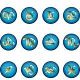 Simbolismo do zodíaco Imagem de Stock
