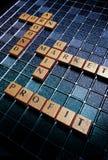 Simbolismo positivo del mercado financiero Fotos de archivo libres de regalías