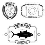 Simboliza o restaurante Fotografia de Stock Royalty Free