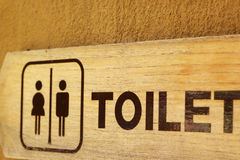 Simbolize toaletes Foto de Stock Royalty Free
