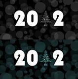 Simbolo 2012 di nuovo anno Immagine Stock Libera da Diritti