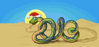 Simbolo 2013 del serpente Immagine Stock Libera da Diritti