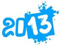 Simbolo 2013 di arte della sporcizia Immagine Stock