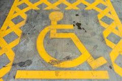 Simbolo andicappato Immagini Stock Libere da Diritti