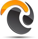 Simbolo astratto. Fotografia Stock