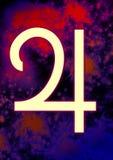 Simbolo astrologico di Giove Fotografia Stock