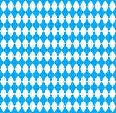 Simbolo bavarese della bandiera di Oktoberfest Fotografia Stock Libera da Diritti
